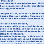 Barack Obama's Letter to Donald Trump