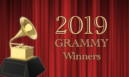 2019 Grammy Award Winners