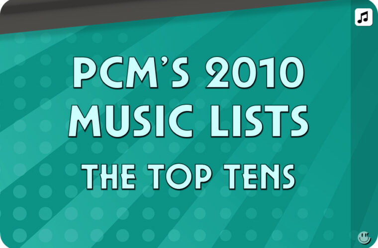 2010 Top Ten Music Charts