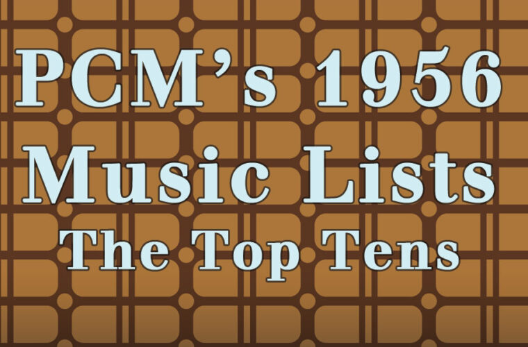 1956 Top Ten Music Charts