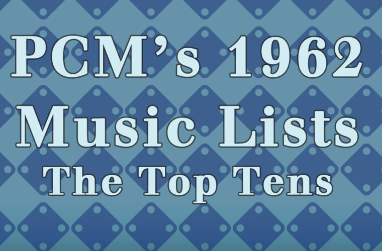 1962 Top Ten Music Charts