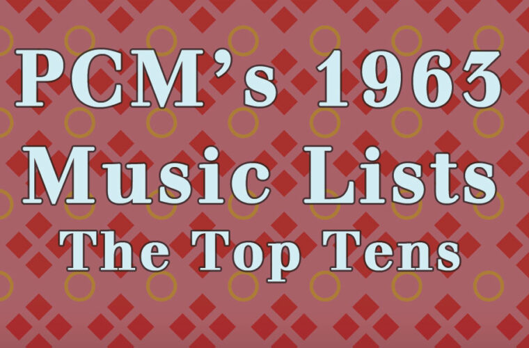 1963 Top Ten Music Charts