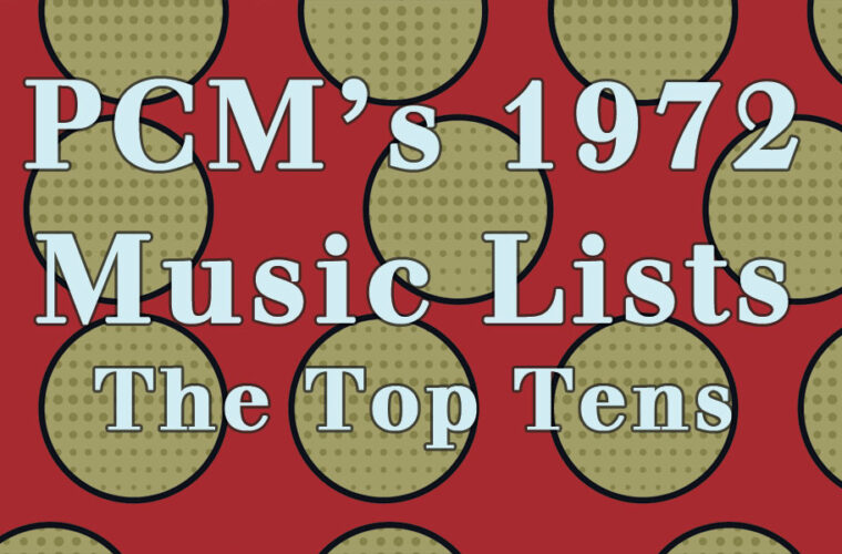 1972 Top Ten Music Charts