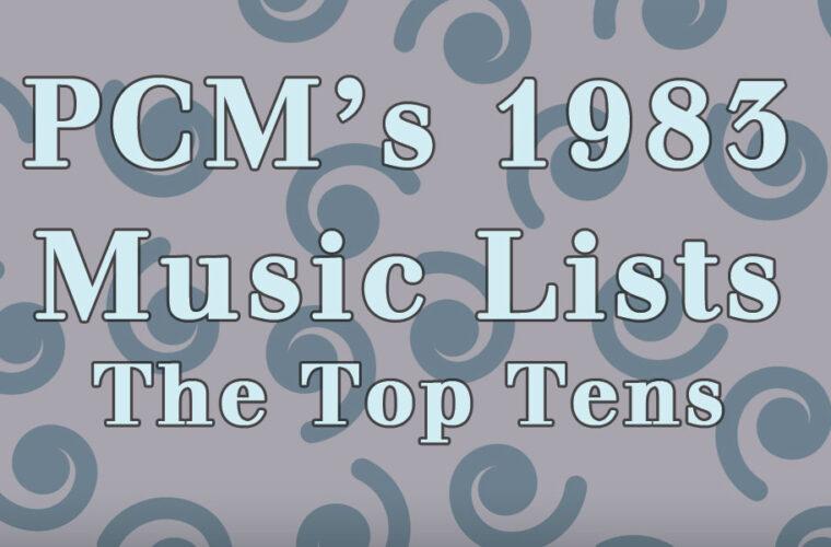 1983 Top Ten Music Charts