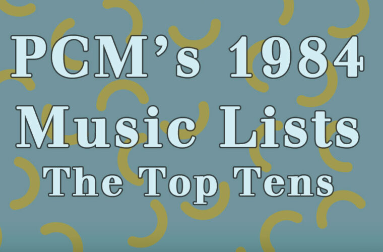 1984 Top Ten Music Charts