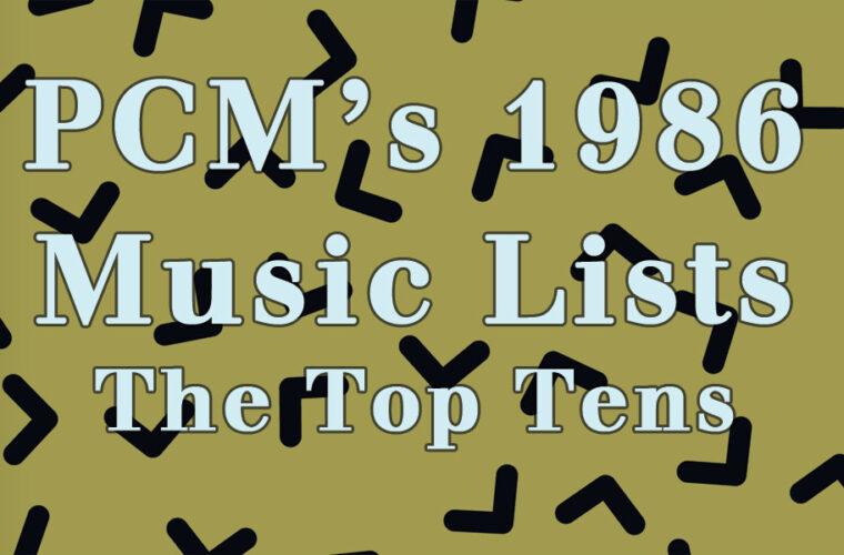 1986 Top Ten Music Charts