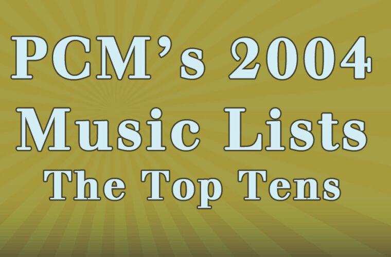 2004 Top Ten Music Charts