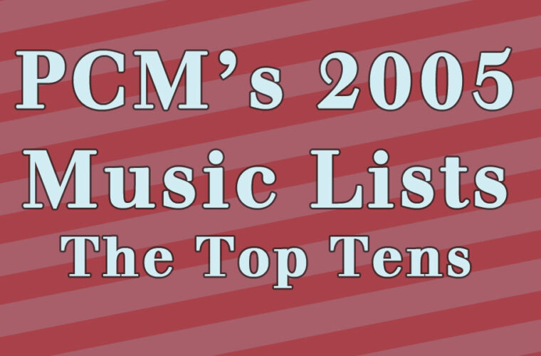 2005 Top Ten Music Charts