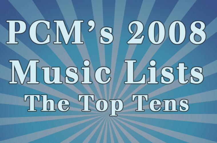 2008 Top Ten Music Charts
