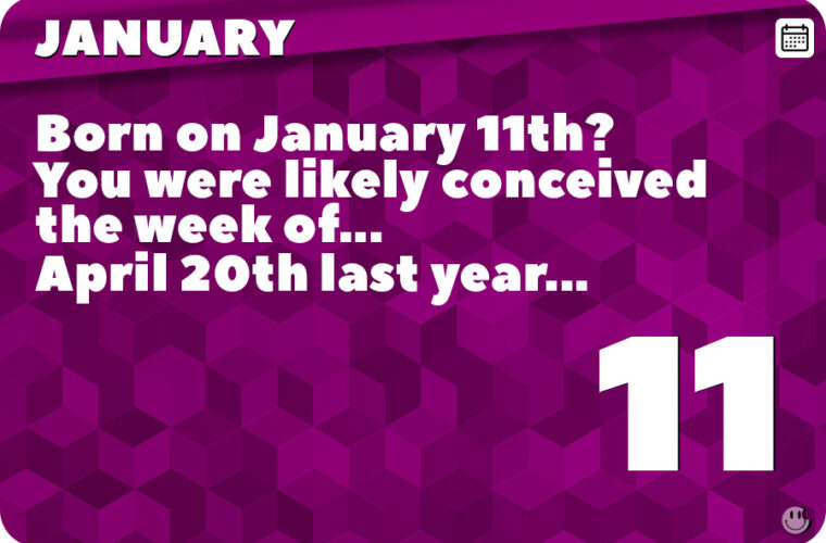January 11 in Pop Culture History