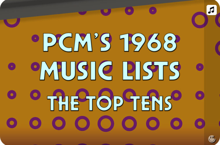 1968 Top Ten Music Charts
