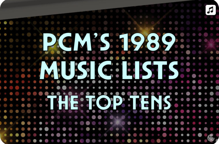 1989 Top Ten Music Charts
