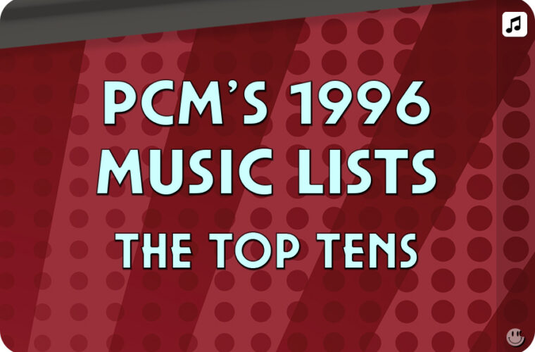 1996 Top Ten Music Charts