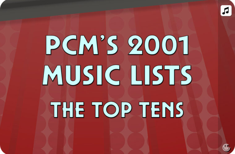 2001 Top Ten Music Charts