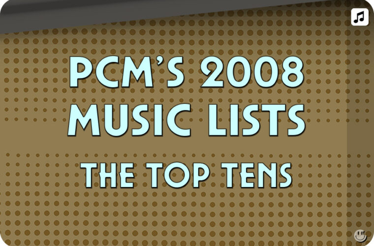 2008 Top Ten Music Charts