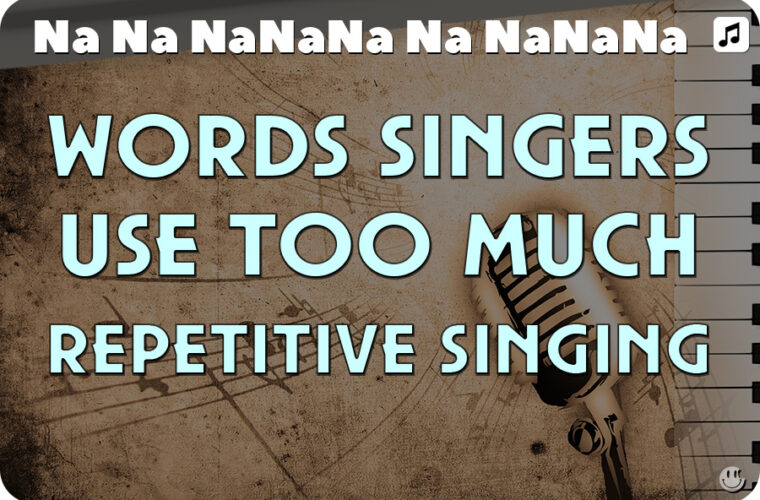 Repetitive Words Singers Use